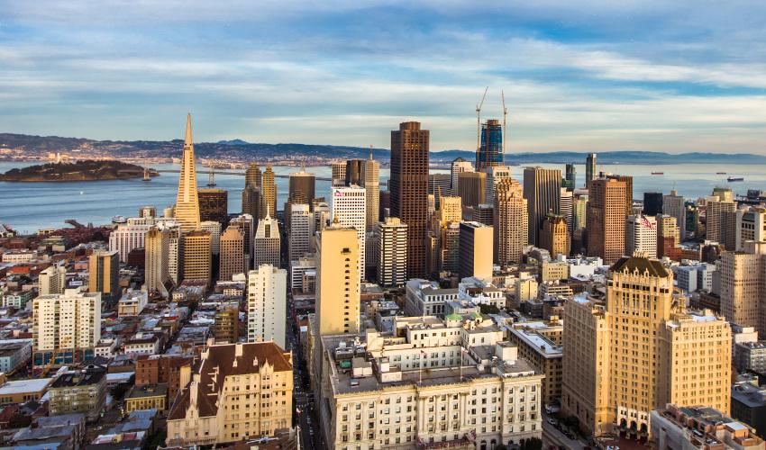 The San Francisco skyline
