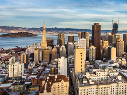 SF City skyline