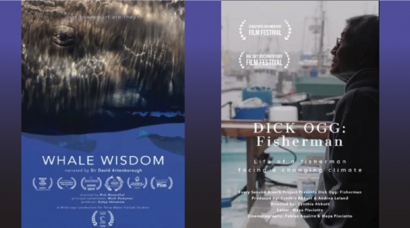 Whale Wisdom and Dick OGG film posters